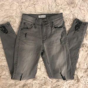 James Twiggy Ankle grey jeans